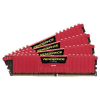Corsair 16GB (4x4GB) Vengeance LPX Red 3000MHz DDR4 CL15 1.35V Quad-channel memória