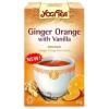 Golden Temple Narancsos gyömbér tea vaníliával BIO 17x1,8g Yogi