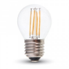 Retro LED izzó - 4W Filament E27 G45 Természetes fehér 4427
