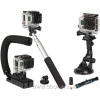 Sunpak Action Camera Accessory Kit 5 tartozékszett GoPro rendszerű kamerához, 5 db-os