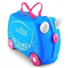 Trunki Bőrönd - Princess Carriage Pearl