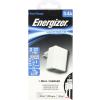 ENERGIZER lightning hálózati töltő,2xUSB,3.4A,Fehér