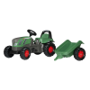 Rolly Toys Rolly Kid Fendt Vario pedálos traktor utánfutóval