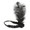 charleston fejdísz fekete (orcza-yh)