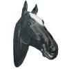 Lófej-80cm/fekete