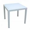 MEGA PLAST RATAN LUX rattan asztal 71x75,5 Fehér