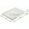 Bosch 1987432082 Pollenszűrő MINI I