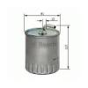 Bosch 1457434416 Gázolajszűrő, üzemanyagszűrő MERCEDES C, CLK, G, M