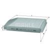 Mahle LA54 Pollenszűrő VOLVO S60, S70, S80, V70, XC70, XC90
