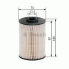 Bosch F026402005 Gázolajszűrő, üzemanyagszűrő VOLVO S60, S80, V70, XC70, XC90