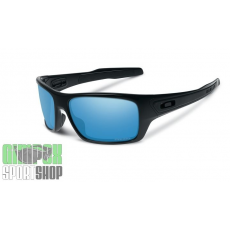 OAKLEY Turbine Deep Water Polished Black Prizm Salt Water Polarized