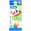 MILAN háromszögletű színes ceruza - 12 darabos