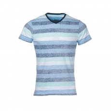 Fundango V-Neck T Stripe Jr T-shirt,top D (3TO102_462-capri)