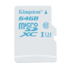 Kingston MicroSDXC memóriakártya, 64GB, UHS-I U3 Action Card Single Pack (SDCAC/64GBSP)