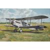 De Havilland DH4a passenger repülő makett Roden 431