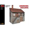 MiniArt Ardennes Building épület dioráma makett Miniart 35515