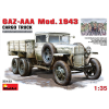 MiniArt GAZ-AAA. Mod. 1943. Cargo Truck katonai jármű makett Miniart 35133