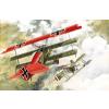 Fokker Dr.I repülő makett Roden 010