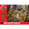 WWII British Infantry figura makett Airfix A02718