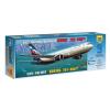 Zvezda BOEING 767-300 polgári repülő makett Zvezda 7005