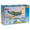 Zvezda LAVOCHKIN LA-5 katonai repülő makett Zvezda 4803