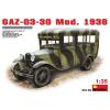 MiniArt GAZ-03-30 Mod.1938 katonai jármű makett Miniart 35149