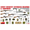 MiniArt Soviet Infantry Automatic Weapon&Equipment figura fegyver makett Miniart 35154