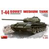 Mniart T-44 Soviet Medium Tank makett MiniArt 35193