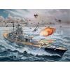 Revell Battleship Bismarck hajó makett revell 5040