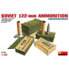 MiniArt SOVIET 122-mm AMMUNITION dioráma épület makett Miniart 35068