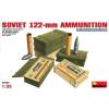 MiniArt SOVIET 122-mm AMMUNITION dioráma épület makett Miniart 35068