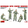 MiniArt GERMAN SPG CREW RIDERS figura makett MiniArt 35054