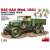 MiniArt GAZ-AAA Cargo Truck Mod. 1941 katonai jármű makett Miniart 35173