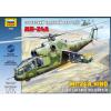 Zvezda Mil Mi-24A Hind helikopter makett Zvezda 7273