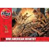 WWI American Infantry figura makett Airfix A01729