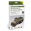 Vallejo Weathering set for Green vehicles öregbítő és koszoló festék szett zöld járművekhez vallejo 78406