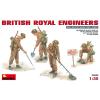 MiniArt BRITISH ROYAL ENGINEERS figura makett MiniArt 35083