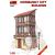 MiniArt NORMAN CITY BUILDING épület dioráma makett Miniart 35503