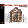 MiniArt GERMAN CITY BUILDING épület dioráma makett Miniart 35506
