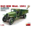 MiniArt GAZ-MM Mod.1941 1.5t CARGO TRUCK katonai jármű makett Miniart 35130