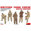 MiniArt Britische Panzer Crew in Winteruniform figura makett MiniArt 35121