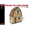 MiniArt POLISH VILLAGE HOUSE épület dioráma makett Miniart 35517