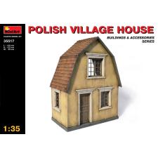 MiniArt POLISH VILLAGE HOUSE épület dioráma makett Miniart 35517 makett figura