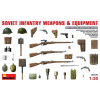 MiniArt Soviet Infantry Weapons and Equipment makett MiniArt 35102