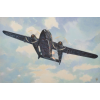 Fairchild AC-119K Stinger repülő makett Roden 322