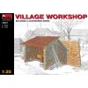 MiniArt VILLAGE WORKSHOP épület dioráma makett Miniart 35512