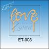 Tortadísz - Love
