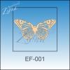 Lepke, pillangó -áttört (2db)