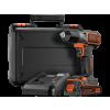 Black & Decker ASD18K 18V Akkus Autosense fúró-csavarozó