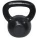 Robust Kettlebell fekete vas 10 kg